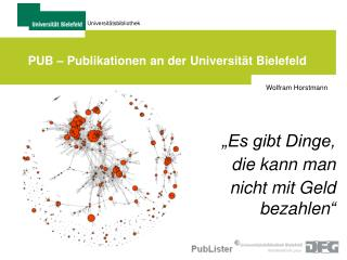 PUB – Publikationen an der Universität Bielefeld