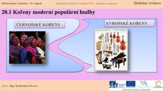 20.1 Kořeny moderní  populární hudby