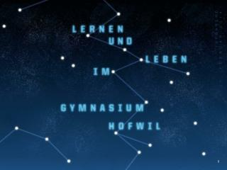 Talentf�rderung Gymnasium  Hofwil