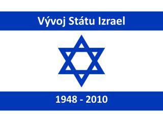 Vývoj Státu Izrael