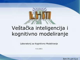 Veštačka inteligencija  i kognitivno modeliranje