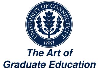 The Art of  Graduate Education
