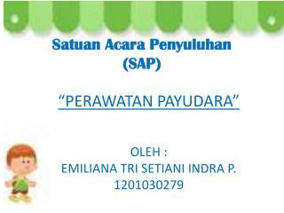 Satuan Acara Penyuluhan (SAP)