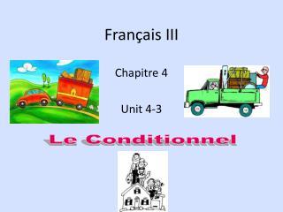 Français III