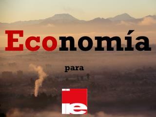 Eco nomía