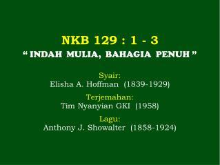 NKB 129 : 1 - 3
