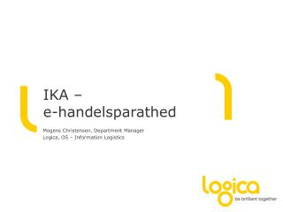 IKA �  e-handelsparathed