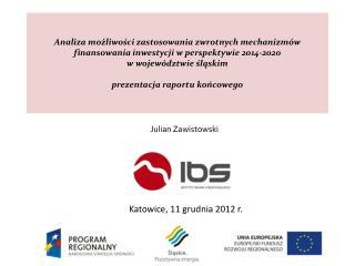 Katowice, 11 grudnia 2012 r.