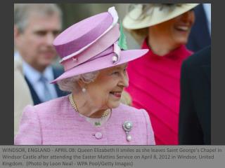 Royal Family attend Easter services