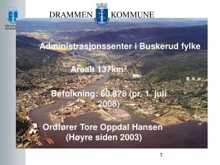 Administrasjonssenter i Buskerud fylke