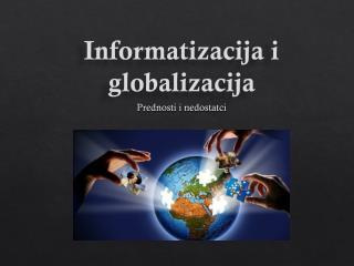 Informatizacija i globalizacija