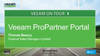 Veeam ProPartner Portal