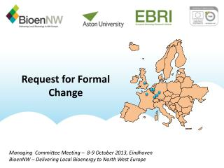 Request for Formal Change
