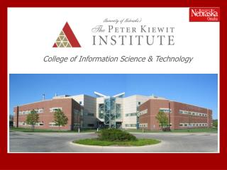 College of Information Science  Technology