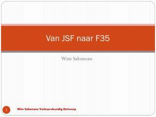 Van JSF naar F35