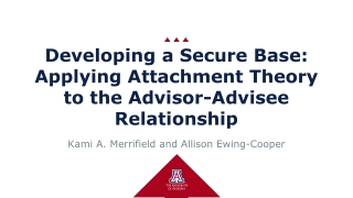 Describing secure and insecure attachment