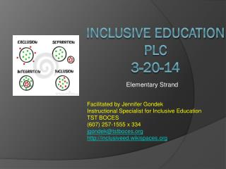 Inclusive Education  PLC   3-20-14
