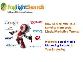 Social Media Marketing Toronto