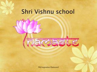 Shri Vishnu school