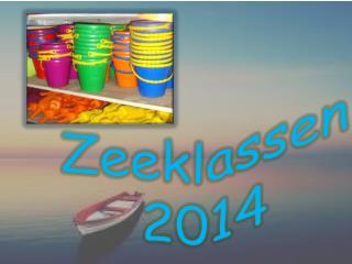 Zeeklassen 2014