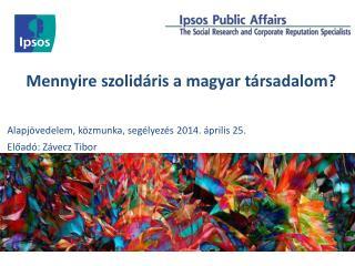 Mennyire szolidáris a magyar társadalom?
