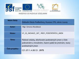 Datum vytvoření  : 14.01.2012