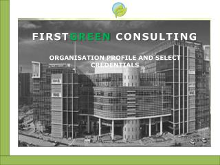 FIRSTGREEN CONSULTING
