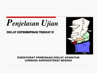 DIKLAT KEPEMIMPINAN TINGKAT IV