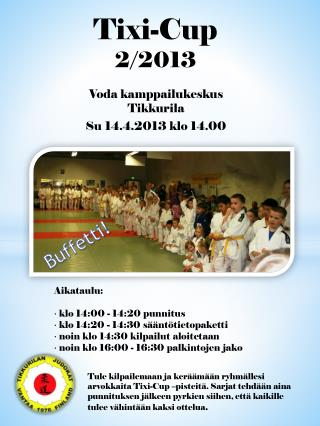 Tixi -Cup 2/2013