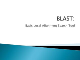 BLAST: