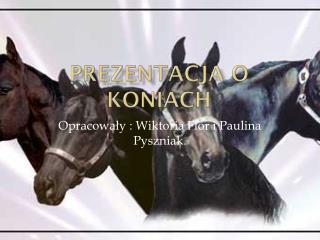 Prezentacja o koniach