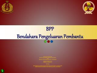 BPP Bendahara Pengeluaran Pembantu