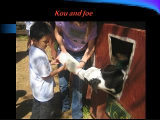Kou and Joe