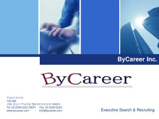 Executive Search  Recruiting