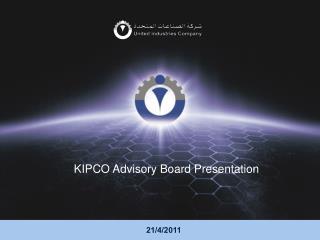KIPCO Advisory Board Presentation