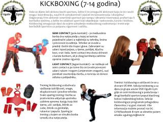 KICKBOXING (7-14 godina)