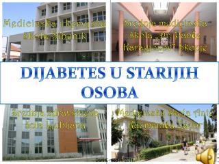 Dijabetes u starijih osoba