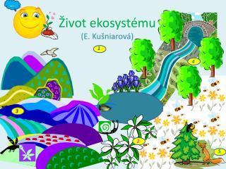 Život ekosystému (E.  Kušniarová )