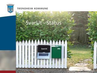 SvarUt - Status