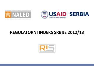 REGULATORNI INDEKS SRBIJE 2012/13