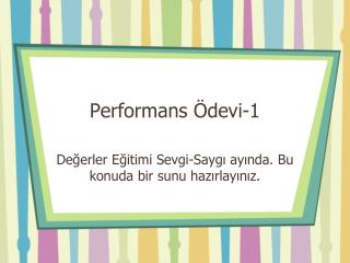 Performans Ödevi-1