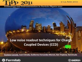 Low noise readout techniques for Charge Coupled Devices (CCD)