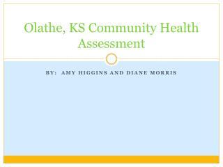 Olathe, KS Community Health Assessment