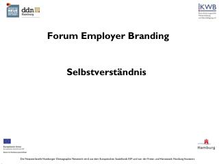 Forum  Employer  Branding