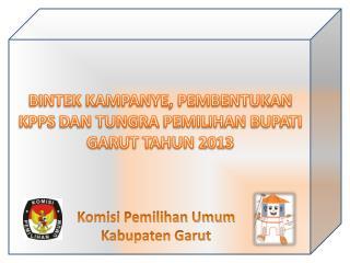 Komisi Pemilihan Umum Kabupaten Garut