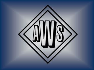 This is AWS American Welding Society
