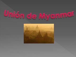 Unión de Myanmar