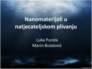 Nanomaterijali u natjecateljskom plivanju