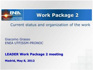 Work  Package 2