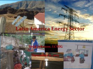Latin America Energy Sector